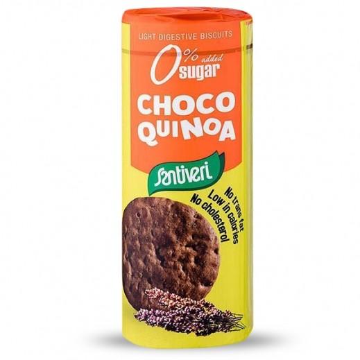 Santiveri Digestive Light Choco Quinoa Biscuits 175 g