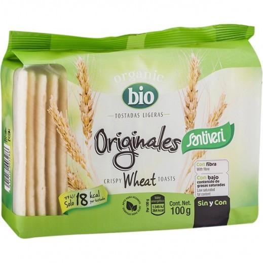 Santiveri Santiveri Toast Organic Light Wheat 100 g