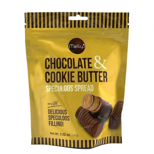 Mellys Chocolate & Cookie Butter Spread Pouch 100 g