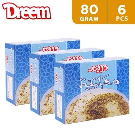 Dreem Muhallabeya Powder Vanilla 6 x 80 g