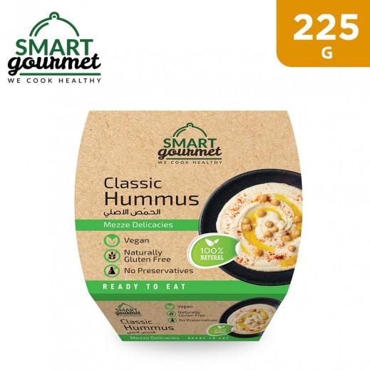 Smart Gourmet Gluten Free Natural Classic Hummus 225 g