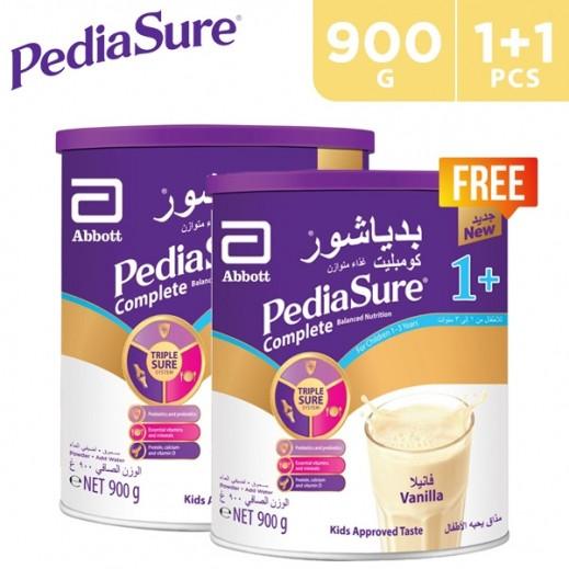 Pediasure Complete 1+ Vanilla 900 g (1-3 Years) 1 + 1 Free