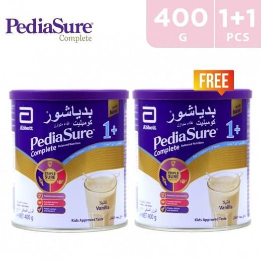 Pediasure Complete 1+ Vanilla (1-3 Years)  400 g (1+1 Free)