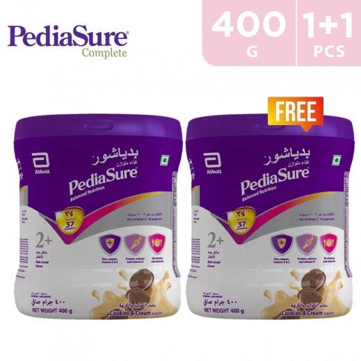 Pediasure Complete Cookies & Cream 2+ (2-10 Years) 400 g (1+1 Free)