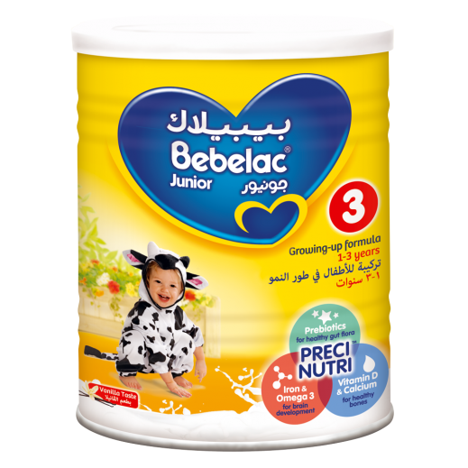 Bebelac Growing Up Milk Junior Stage 3 900 g (From 1-3 Years)