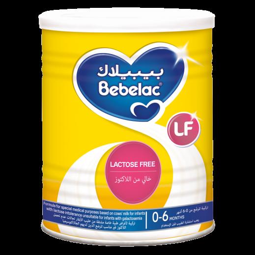 Bebelac Lactose Free Milk 400 g (0 - 6 Months)
