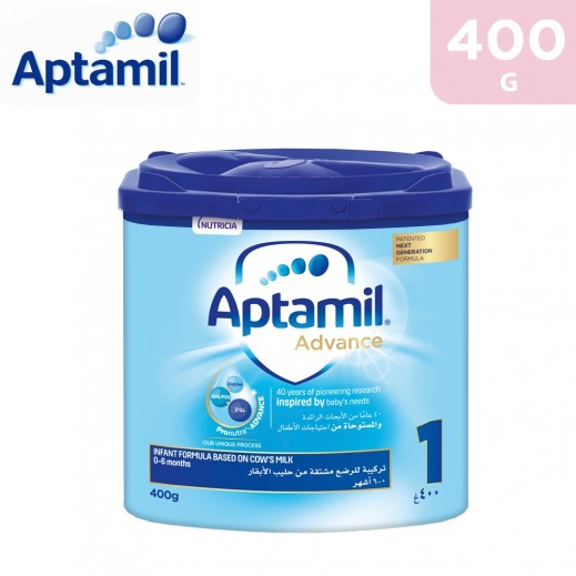 Aptamil Advance Infant Formula Stage 1 400 g (0-6 Months)