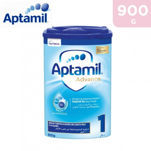 Aptamil Advance Infant Formula Stage 1 900 g (0-6 Months)