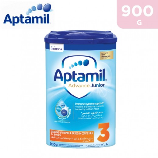 Aptamil Advance Growing Up Formula Junior 3 900 g (1-3 Years)