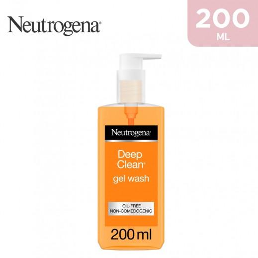 Neutrogena Facial Wash Deep Clean Gel 200 ml
