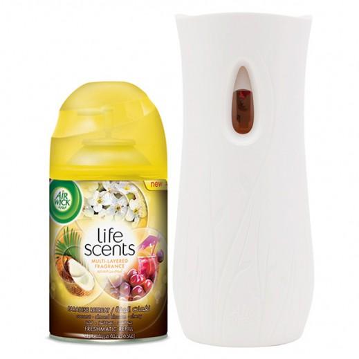 Air Wick Freshmatic Automatic Spray Paradise Retreat Gadget + 250 ml Refill