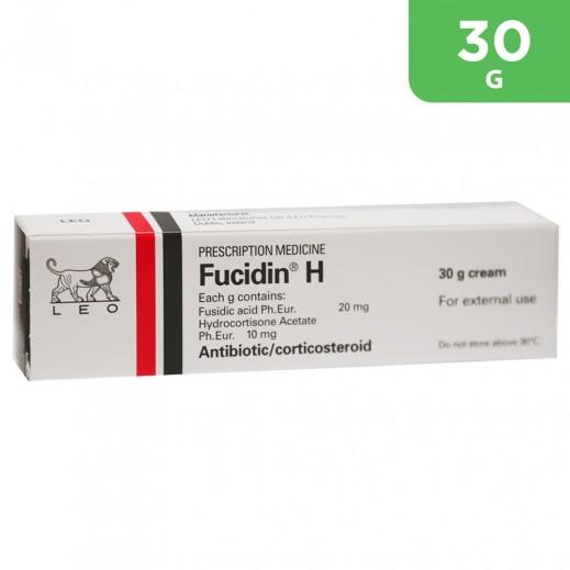 Fucidin Antibiotic Cream With Cortisone 30 g