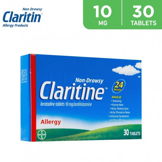 Claritine Allergy Tablet 10 mg 30 Pieces