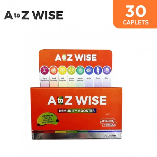 A To Z Wise Immunity Booster 30 Caplets