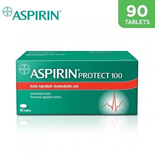 Aspirin Protect 100mg Gastroresistant 90 Tablets