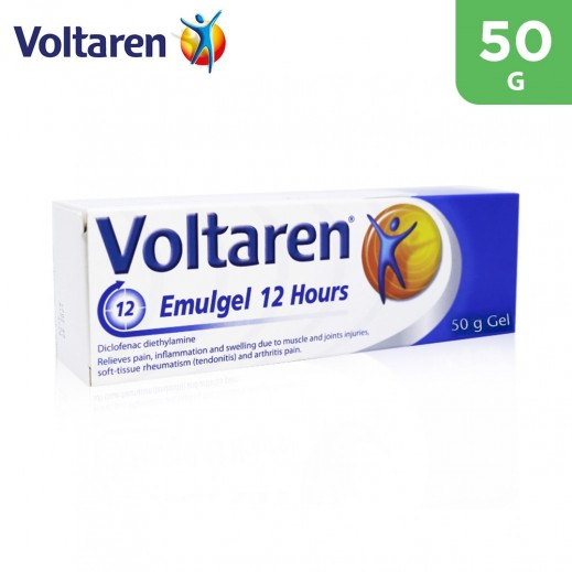 Voltaren Emugel 12 Hours For Joint & Muscle Pain 50 g