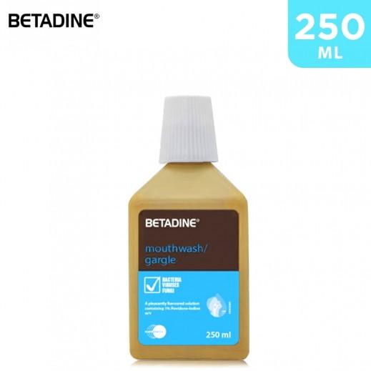 Betadine Mouthwash 250 ml