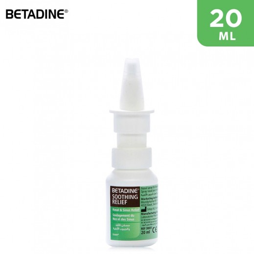 Betadine Soothing Relief Nasal & Sinus Relief 20 ml