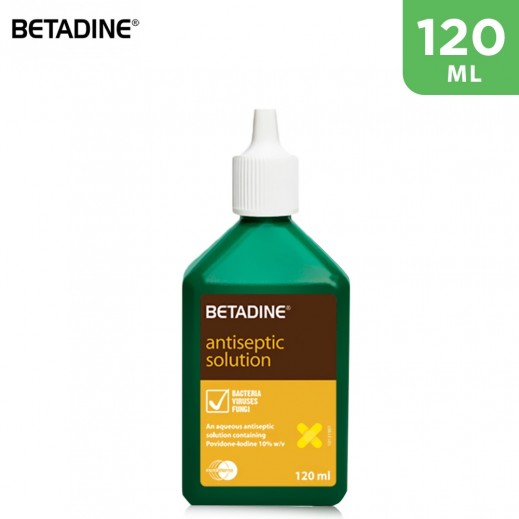 Betadine Antiseptic Solution 120 ml