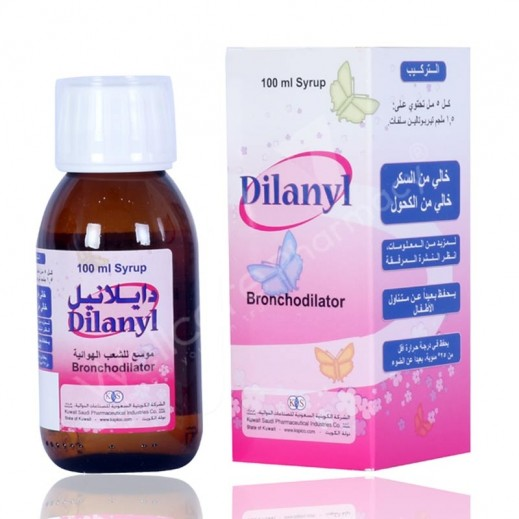 Dilanyl Cold,Cough & Flu Syrup 100 ml