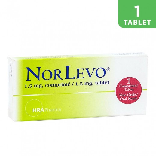 Norlevo 1.5mg Contraceptive Pills 1 Tablet