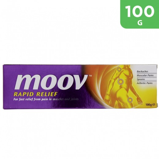 Moov Fast Relief From Pain In Muscles And Joints Ointment 100 g