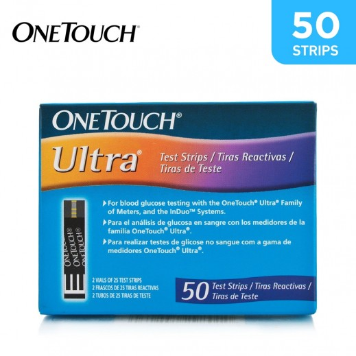 OneTouch Ultra Test Strips 50 Pieces