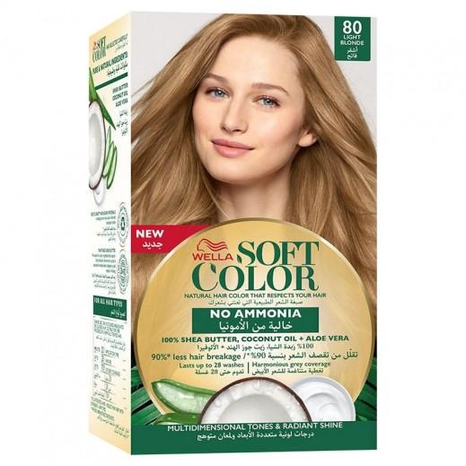 Wella Soft Color Kit 80 Light Blonde