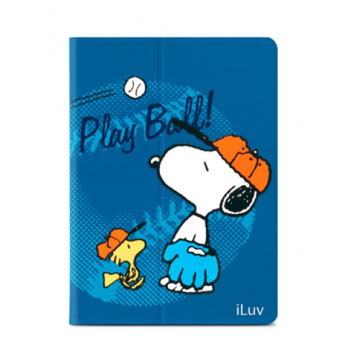 iLuv Snoopy Folio Case For iPad Air - Blue
