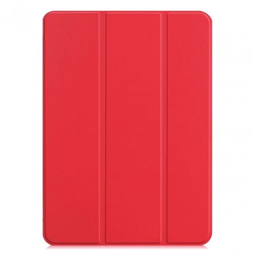 """Devia Leather Case with Pencil Slot for iPad Pro 12.9"""" (2018) – Red"""