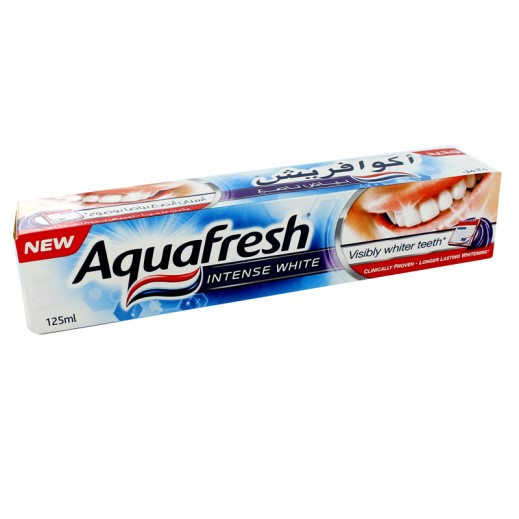 Aquafresh Toothpaste Intense White 125 ml