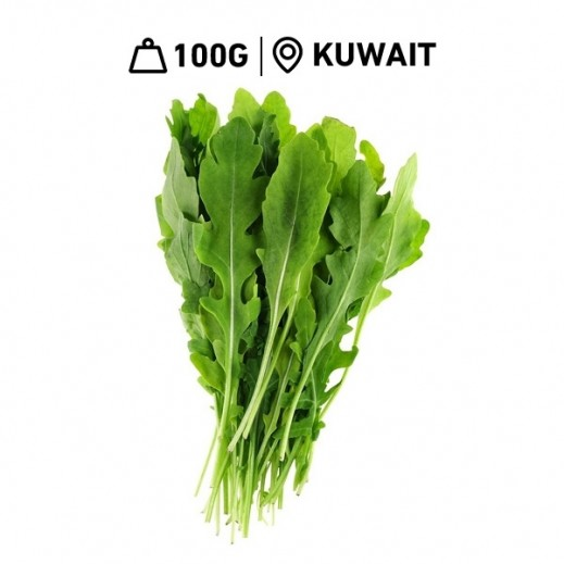 Fresh  Kuwaiti Rocket Leaves (100 g Approx)