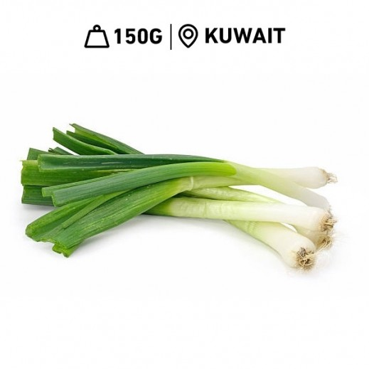 Fresh Kuwaiti Green Onions (150 g Approx.)