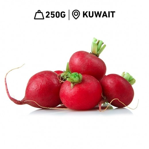 Fresh Kuwaiti Red Radish (250 g Approx)