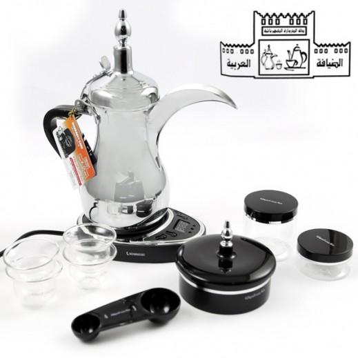 Dallah Bant Al-Darwazah 800 W Electric Coffee Maker – Silver
