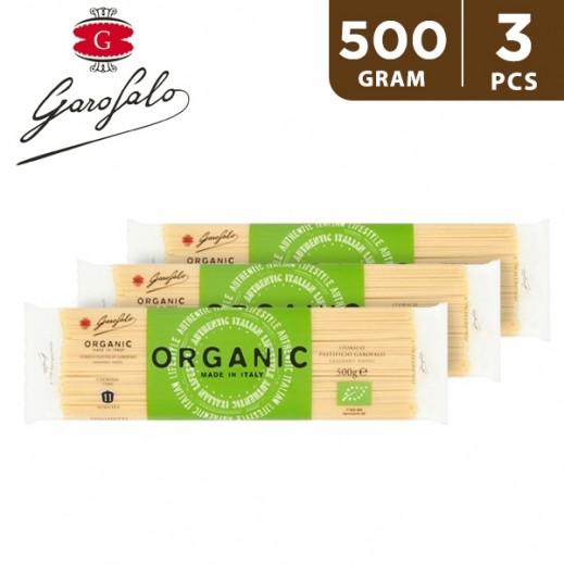Garofalo Spaghetti Organic Pasta 3x500 g