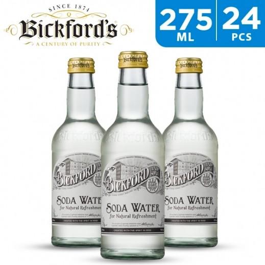 Bickfords Premium Soda Water 24 x 275 ml