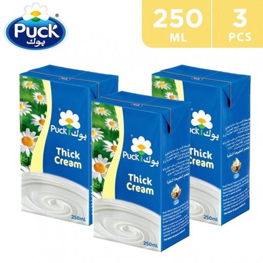 Puck Thick Cream Plain 3 x 250 ml