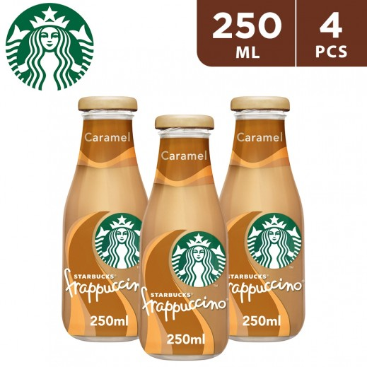 Starbucks Frappucino Caramel 4 x 250 ml