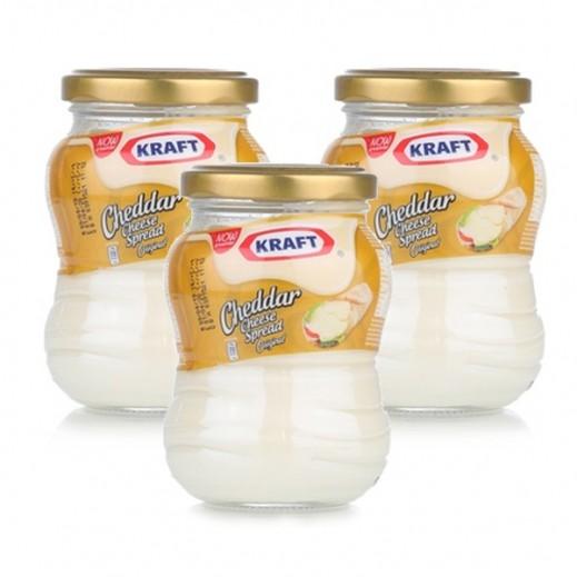 Kraft Gold Jar Cheddar Cheese Spread 3 x 230 g