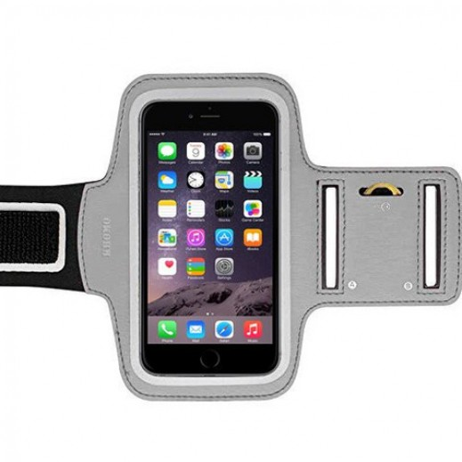 Sports Armband For iPhone 6 Plus Silver