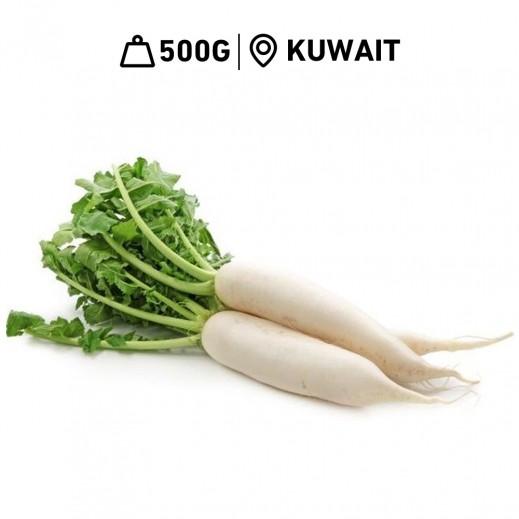 Fresh Kuwaiti White Radish (500 g Approx.)