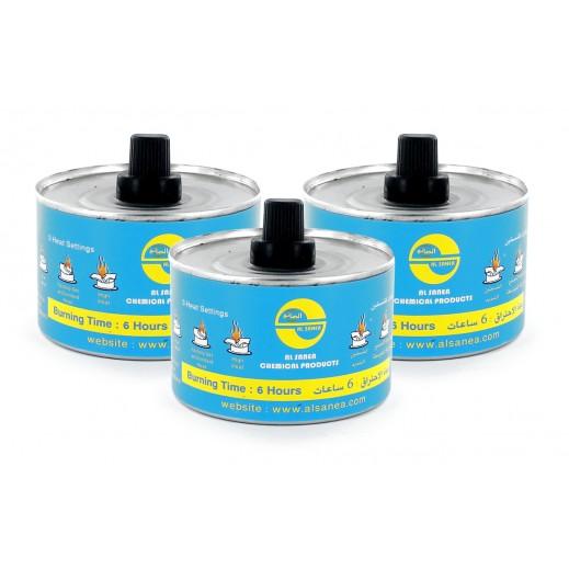 AL-Sanea Sercote Flame Liquid 220 ml (2+1 Free)
