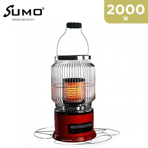 Sumo Electric Heater 2000W - Red