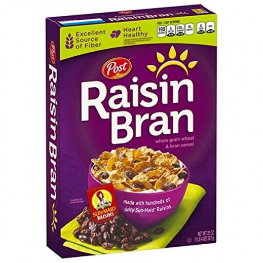 Post Cereals Raisin Bran 567 g