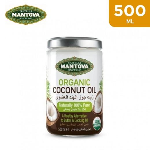Mantova Organic Pure Coconut Oil 500 ml