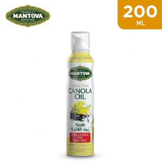 Mantova Pure Canola Oil Spray 200 ml