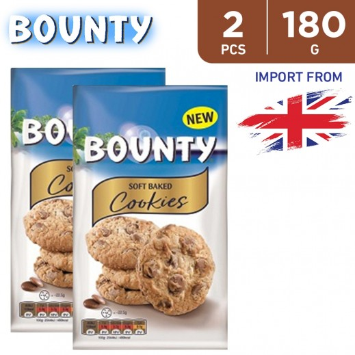 Bounty Soft Baked Cookies 2 x 180 g