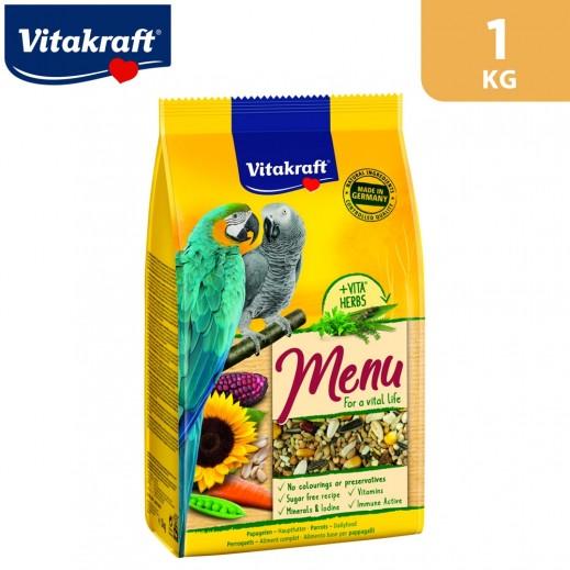 VitaKraft Menu Vital for Parrots Bird Food 1 kg