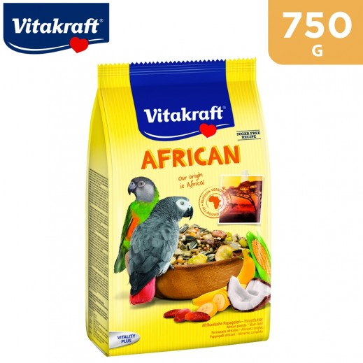VitaKraft Parrot African Bird Food 750 g